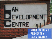 Notification for Pre-Entry Examination